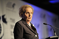 Montreal (Qc) Canada - June 10 2009 -Madeleine Allbright