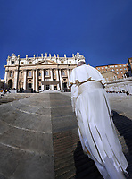 Pope Francis during general audience on St.Peter's square at the Vatican November 7,2018