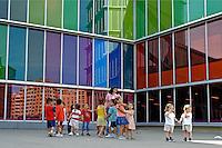 Museo de Arte Contemporáneo, Musac, na cidade de León. Espanha. 2008. Foto de Caio Vilela.