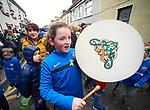 Ruthie Hickey at the St Patrick's Day parade in Killaloe. Photograph by John Kelly.