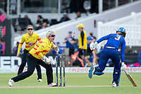 Rachel Priest, Trent Rockets appeals for the run out during London Spirit Women vs Trent Rockets Women, The Hundred Cricket at Lord's Cricket Ground on 29th July 2021
