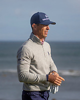 1st October 2021; Kingsbarns Golf Links, Fife, Scotland; European Tour, Alfred Dunhill Links Championship, Second round; Billy Horschel of the USA on the fairway of the twelfth hole at Kingsbarns Golf Links