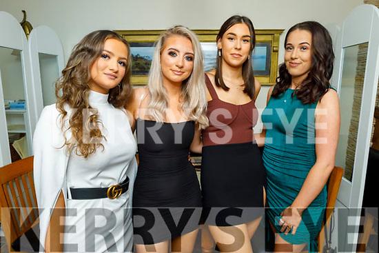 Delana O'Regan from Tralee celebrating her 18th birthday in Bella Bia on Saturday. L to r: Shannon Sheehan, Delana O'Regan, Saoirse O'Donnegan and Laura Fitzgerald.