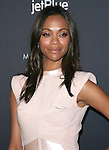 Zoe Saldana at The Gen Art Fresh Faces in Fashion presented by MOROCCANOIL  held at Vibiana in Los Angeles, California on October 22,2011                                                                               © 2011 Hollywood Press Agency