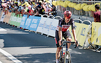 Brent Van Moer (BEL/Lotto Soudal) at the finish<br /> <br /> Stage 19 from Mourenx to Libourne (207km)<br /> 108th Tour de France 2021 (2.UWT)<br /> <br /> ©kramon