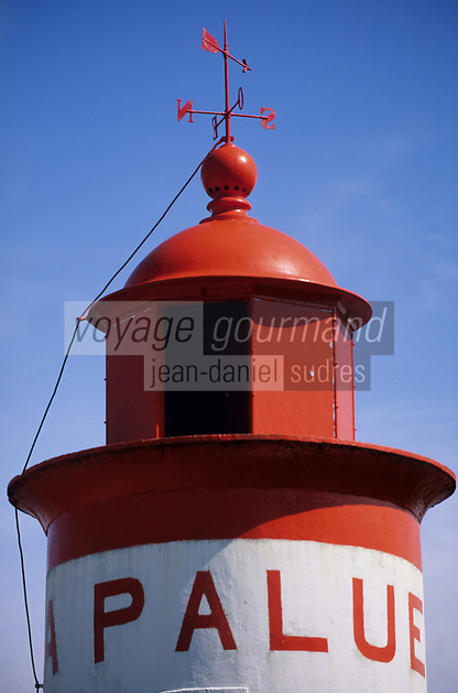 Europe/France/Bretagne/29/Finistère/L'Aber wrach: Le phare de la Palue