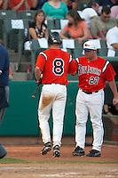 SAN ANTONIO, TX - APRIL 18, 2006: The University of Texas Longhorns vs. The University of Texas at San Antonio Roadrunners Baseball at Nelson Wolff Stadium. (Photo by Jeff Huehn)