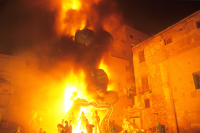 Fallas Celebration, Valencia, Levant, Spain
