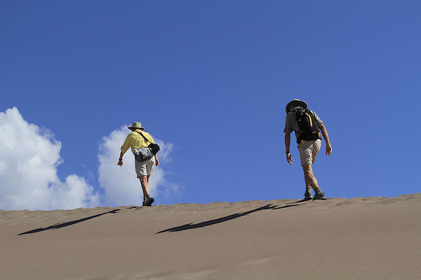 Man and woman hiking in Great Sand Dunes National Park, Colorado. Getty Images similar, John offers private photo trips to Great Sand Dunes National Park and all of Colorado. All year long.