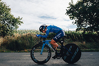 6th October 2021 Womens Cycling Tour, Stage 3. Individual Time Trial; Atherstone to Atherstone. Alicia Blanco Gonzalez.