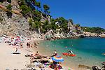 Spain, Catalonia, Costa Brava, Calella de Palafrugell: El Golfet beach | Spanien, Katalonien, Costa Brava, Calella de Palafrugell: El Golfet beach