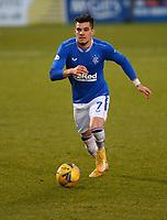 30th December 2020; St Mirren Park, Paisley, Renfrewshire, Scotland; Scottish Premiership Football, St Mirren versus Rangers; Ianis Hagi of Rangers on the ball