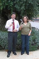 Filipa Tomaz da Costa winemaker. Bernardo Gouvea previously general manager. Bacalhoa Vinhos, Azeitao, Portugal