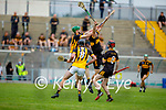 Action from Abbeydorney v Dr Crokes in the County Senior hurling championship game on Sunday