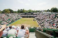 29-6-09, England, London, Wimbledon, Overall vieuw court 2