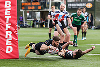 London Broncos v Featherstone Rovers Match Images - 18.02.2018