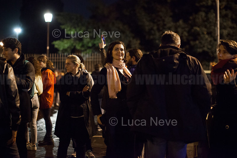 Laura, Politician.<br /> <br /> Rome, 01/05/2019. This year I will not go to a MayDay Parade, I will not photograph Red flags, trade unionists, activists, thousands of members of the public marching, celebrating, chanting, fighting, marking the International Worker's Day. This year, I decided to show some of the Workers I had the chance to meet and document while at Work. This Story is dedicated to all the people who work, to all the People who are struggling to find a job, to the underpaid, to the exploited, and to the people who work in slave conditions, another way is really possible, and it is not the usual meaningless slogan: MAKE MAYDAY EVERYDAY!<br /> <br /> Happy International Workers Day, long live MayDay!