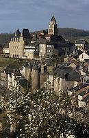 Europe/France/Limousin/19/Corrèze/Uzerche: La ville
