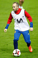 Spain's Andres Iniesta during training session. March 23,2017.(ALTERPHOTOS/Acero)