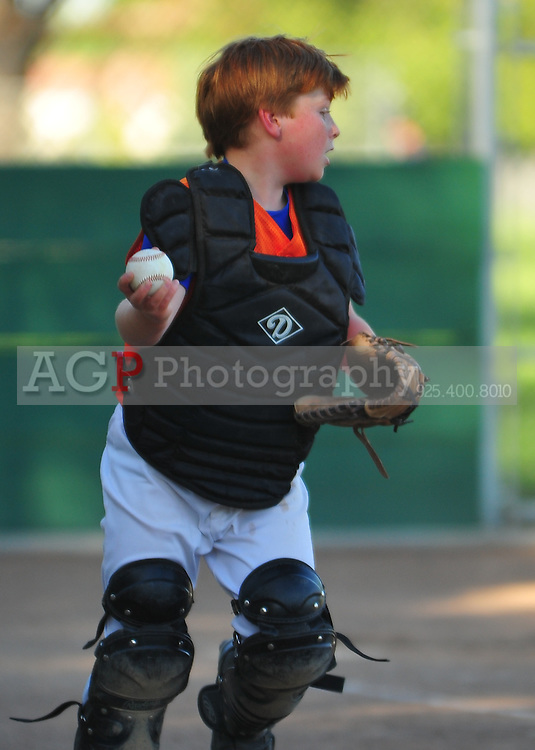 The PNLL AAA Mets at th Pleasanton Sports Park Tuesday June 1, 2010. (Photo by Alan Greth)