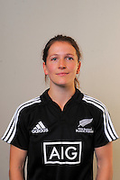 Lizzie Goulden. New Zealand Black Ferns headshots at The Rugby Institute, Palmerston North, New Zealand on Thursday, 28 May 2015. Photo: Dave Lintott / lintottphoto.co.nz