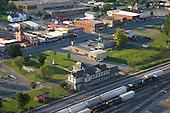 Town of Etowah and railroad yard