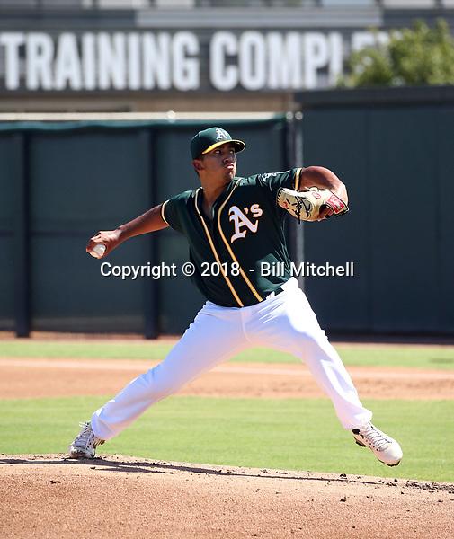 Daniel Martinez - 2018 AIL Athletics (Bill Mitchell)