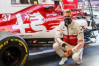 SCHUMACHER Mick (ger), Alfa Romeo Racing ORLEN C39, portrait during the Formula 1 Aramco Grosser Preis Der Eifel 2020, Eifel Grand Prix, from October 9 to 11, 2020 on the Nürburgring, in Nürburg, Germany  <br /> Nurburg Nurburging 8-10-2020 Formula 1 GP Eifel Germania <br /> Foto Dppi/Panoramic/Insidefoto <br /> ITALY ONLY