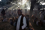 A Hindu pilgrim at Sonepur fair ground. Bihar, India, Arindam Mukherjee