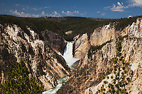 Lower Falls, Canyon Village, Yellowstone National Park, Wyoming, USA