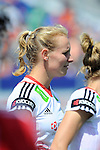 The Hague, Netherlands, June 01: German player before the field hockey group match (Women - Group B) between Germany and China on June 1, 2014 during the World Cup 2014 at GreenFields Stadium in The Hague, Netherlands. Final score 1:1 (0:0) (Photo by Dirk Markgraf / www.265-images.com) *** Local caption ***