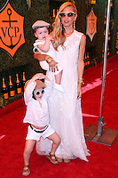 PACIFIC PALISADES, CA, USA - OCTOBER 11: Skyler Morrison Berman, Kaius Jagger Berman, Rachel Zoe arrive at the 5th Annual Veuve Clicquot Polo Classic held at Will Rogers State Historic Park on October 11, 2014 in Pacific Palisades, California, United States. (Photo by Xavier Collin/Celebrity Monitor)