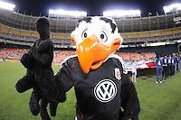 DC United Mascot Talon.   The Houston Dynamo defeated DC United 3-1, at RFK Stadium, Saturday September 25, 2010.