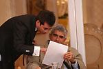 MATTEO COLANINNO CON PIERFERDINANDO CASINI<br /> CONVEGNO GIOVANI IMPRENDITORI DI CONFINDUSTRIA<br /> CAPRI 2005