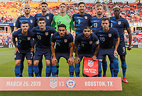 USMNT vs Chile, March 26, 2019