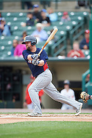 Toledo Mudhens designated hitter Casey McGehee (31) at bat during a game against the Rochester Red Wings on June 12, 2016 at Frontier Field in Rochester, New York.  Rochester defeated Toledo 9-7.  (Mike Janes/Four Seam Images)