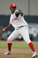 July 12 2009: Pedro Vidal of the Vancouver Canadians during game against the Boise Hawks at Nat Bailey Stadium in Vancouver,BC..Photo by Larry Goren/Four Seam Images