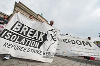 2014/04/23 Berlin | Flüchtlinge | PK & Demonstration