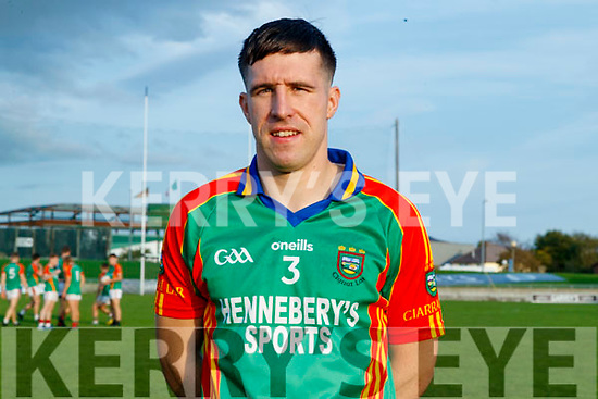 Pa Wrenn (Captain), Mid Kerry before the Kerry County Senior Football Championship Semi-Final match between Mid Kerry and Dr Crokes at Austin Stack Park in Tralee, Kerry.