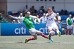 Citi All Stars (in white) vs USRC (in green), during their Masters Tournament match, part of the HKFC Citi Soccer Sevens 2017 on 27 May 2017 at the Hong Kong Football Club, Hong Kong, China. Photo by Chris Wong / Power Sport Images
