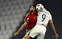 Footbal Soccer: FIFA World Cup Qatar 2022 Qualification, Portugal - Azerbaijan, Allianz Stadium , Turin, March 24, 2021.<br /> Portugal's' Domingos Duarte (L) in action with Azerbaijan's Ali Ghorbani (R) during the FIFA World Cup Qatar 2022 qualification, football match between Portugal and Azerbaijan, at Allianz Stadium in Turin, on March 24, 2021.<br /> UPDATE IMAGES PRESS/Isabella Bonotto