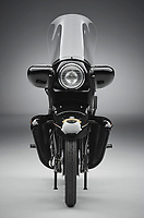 BNPS.co.uk (01202 558833)<br /> Pic: GraemeHunt/BNPS<br /> <br /> Stunning transformation...<br /> <br /> £91,000 'box of bits' has been transformed into a beautiful and rare Vincent Black Prince - the last model from the famous marque.<br /> <br /> A classic motorbike has been painstakingly restored after being bought as a 'box of bits' from Bonhams in 2014 - and is now on sale for £140,000.<br /> <br /> The rare 1955 Vincent Black Prince bike was last ridden in 1967 when it was taken off road and dismantled for a major restoration project.<br /> <br /> But the work never happened and the jigsaw bike was sold in 2014 for a whopping £91,000.<br /> <br /> Since then the canny owner has spent five years and thousands of pounds putting the Vincent back together again.<br /> <br /> London based prestige dealer Graeme Hunt is now selling the very rare machine that was one of the first motorbikes to employ streamlining over its mighty V twin 1000 cc engine.
