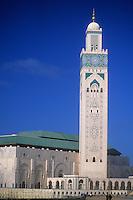 Casablanca, Morocco - Hassan II Mosque.
