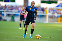 SAN JOSE, CA - SEPTEMBER 30: Magnus Eriksson #7 of the San Jose Earthquakes during a Major League Soccer (MLS) match between the San Jose Earthquakes and the Seattle Sounders on September 30, 2019 at Avaya Stadium in San Jose, California.