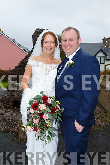 Jennifer Moran, Sussa, Ballinskelligs, daughter of Gerald & Mary, and Dan O'Riordan, Kilnamartyra, Co Cork son of Kate and the late Padraig O'Riordan, who were married in the St Michael The Archangel Church Dun Geagan on Friday, Fr Patsy Lynch officiated at the ceremony, best man was Jerry O'Riordan, bridesmaid was Fiona Moran, the reception was held in the Smugglers Restaurant, Waterville and the couple will reside in Kilnamartyra Co Cork.