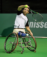 13-02-14, Netherlands,Rotterdam,Ahoy, ABNAMROWTT, Frederic Cattaneo(FRA)<br /> Photo:Tennisimages/Henk Koster