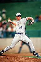 Jeff Austin of the Wilmington Blue Rocks during the California League / Carolina League All Star Game at The Diamond circa 1999 in Lake Elsinore, California. (Larry Goren/Four Seam Images)