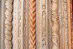 Marble columns in front of the Basilica di Santa Maria Maggiore
