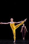SUITE FOR FIVE....Choregraphie : CUNNINGHAM Merce..Mise en scene : CUNNINGHAM Merce..Compositeur : CAGE John..Compagnie : Merce Cunningham Dance Company..Lumiere : EMMONS Beverly..Costumes : RAUSCHENBERG Robert..Avec :..GOGGANS Jennifer..WEBER Andrea..Lieu : Theatre de la Ville..Ville : Paris..Le : 15 12 2011..Laurent Paillier