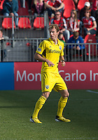 18 May 2013: Columbus Crew defender Tyson Wahl #2 in action during an MLS game between the Columbus Crew and Toronto FC at BMO Field in Toronto, Ontario Canada..The Columbus Crew won 1-0...